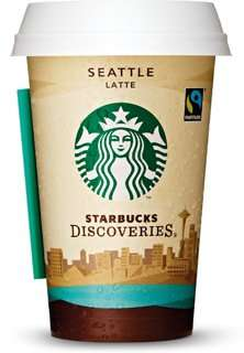[KAAS Frischdienst] Starbucks Discoveries Seattle Latte 220ml, MHD: 11.06.2015