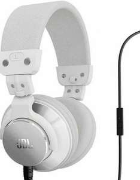 JBL Over-Ear-Kopfhörer, Bassline, weiß für 50,99 €, @Mediamarkt.de