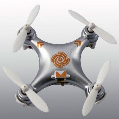 Upgegradeter Mini Quadrocopter Cheerson CX-10A mit Headless Modus für 13,23 Euro von Gearbest
