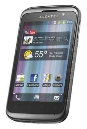 eBay: Alcatel One Touch 991T Schwarz @19,90 Euro inkl. Versand
