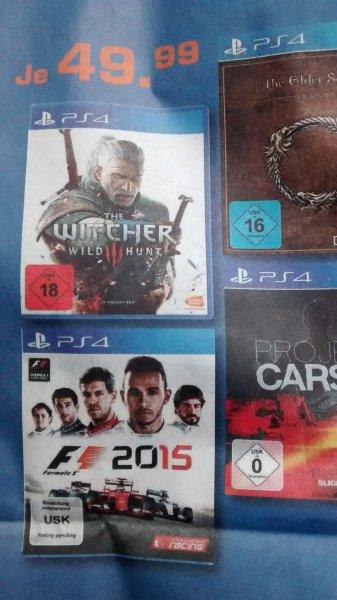 F1 2015 PS4  ab 10.07 @Saturn [lokal - 91522 Ansbach]