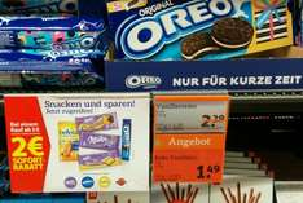 tegut // oreo kekse // 4 packungen // 4 euro