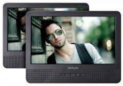 ODYS Seal 9 - portabler DVD-Player mit zusätzlichem Monitor - neuwertige geprüfte B-Ware