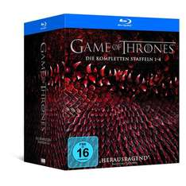 Game of Thrones Staffel 1-4 (Digipack + Bonusdisc + Fotobuch) [Blu-ray] [Limited Edition] für 79,97 € > [amazon.de]