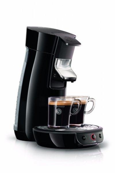 PHILIPS Senseo Viva Café HD7825 Kaffeemaschine 1450W hochglanzschwarz