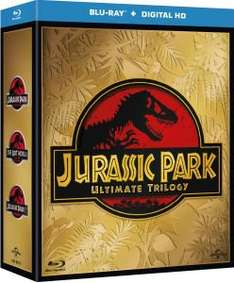 Jurassic Park Trilogy (Includes UltraViolet Copy) 3 x Blu-ray für €13.69 @ Zavvi