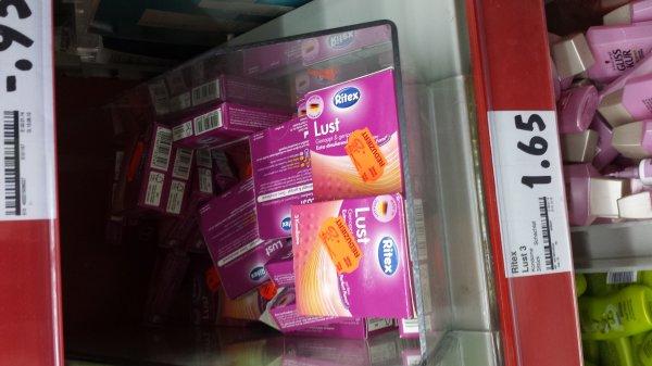 [Lokal Trier West Kaufland] Ritex Kondome 3 Stck. 0,25 € anstatt 1,65 €