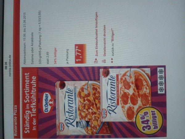 (Norma)Ristorante Pizza 34% billiger