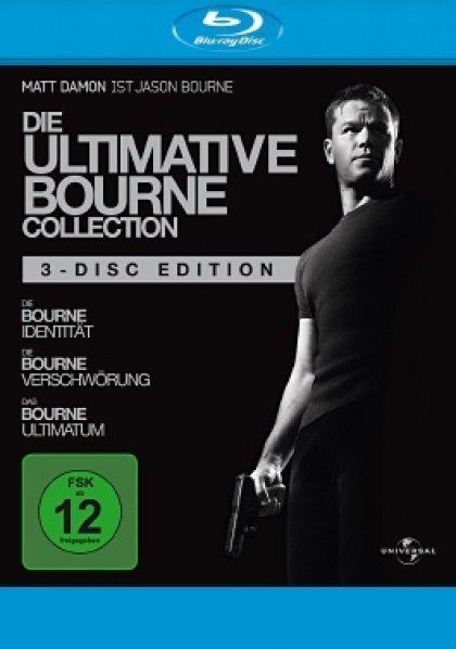 (media-dealer.de) Die Ultimative Bourne Collection - Blu-ray für 9,99 EUR + 1,99 EUR Versand