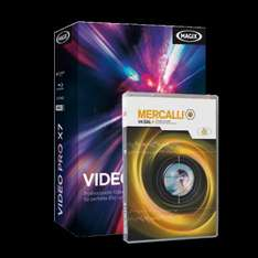 MAGIX Video Pro X7 + proDAD Mercalli V4 + Music Maker Movie Score Edition 199 Euro