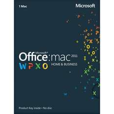 [Ebay] Microsoft Office Mac Home & Business 2011 (1 User) - Downloadversion (Macbook, Imac etc.)