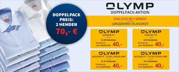 Business Olymp Hemden (2 Stück für 70 EUR bzw. einzeln für 40 EUR)