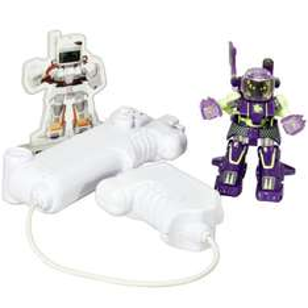[Amazon]Battroborg - Box Roboter, Cyclobber purple / Dent, yellow   RC  2.4GHZ