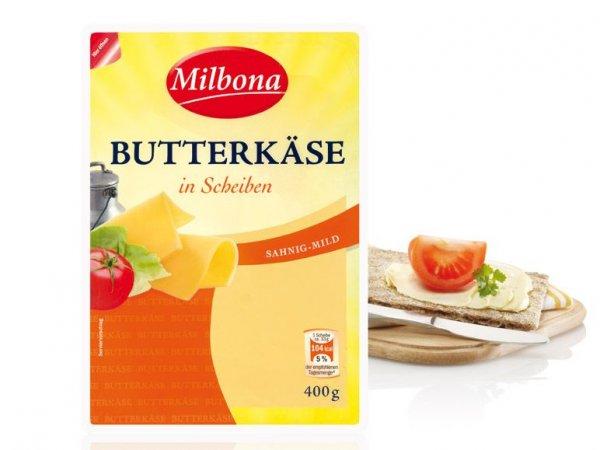 [LIDL] Milbona Butterkäse in Scheiben für 1,35 nur am 20.06 !