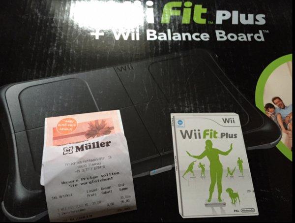 [Müller - Ilmenau] Wii Fit Balance Board schwarz oder weiß