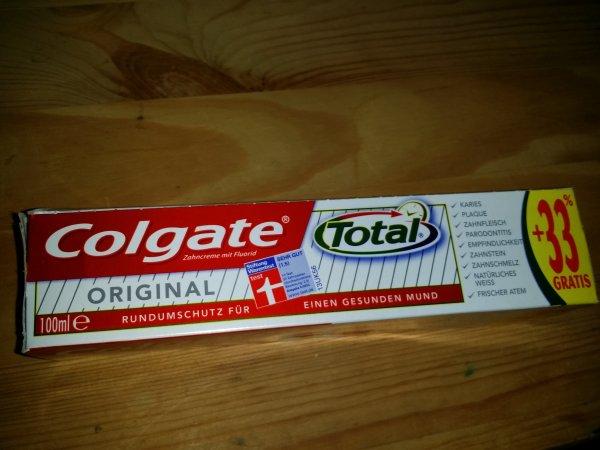 Colgate Total bei DM (Linden/Deutschlandweit?)  1.29 € rechnerisch für 75ml