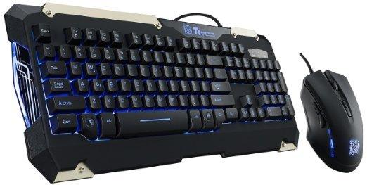 "Tt eSPORTS ""Commander Combo"", Gaming-Tastatur + Gaming-Maus für 29,99 €, @ZackZack"