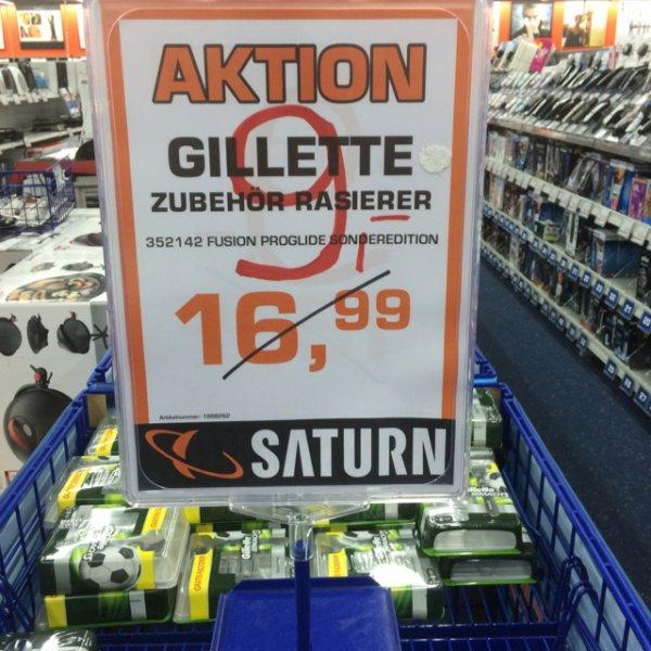 5 x Gillette Fusion Proglide Saturn Hanhausen