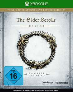Müller Online: The Elder Scrolls Online - Tamriel Unlimited für 44,99€ Xbox One und 49,99€ PS4