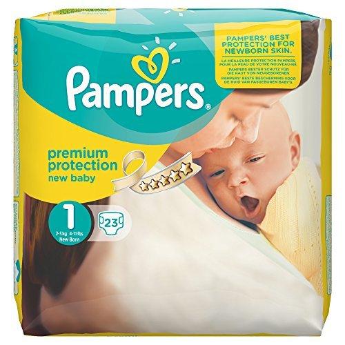 [Amazon Family] Pampers New Baby Gr. 1 Newborn 2-5 kg (4 x 23 Stück) (Rabatt bei anderen Pampers möglich)