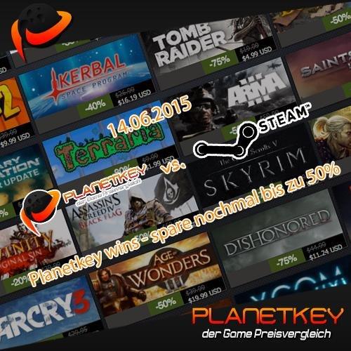 Planetkey vs. Steam Summersale ( Spart nochmal bis zu 50% )