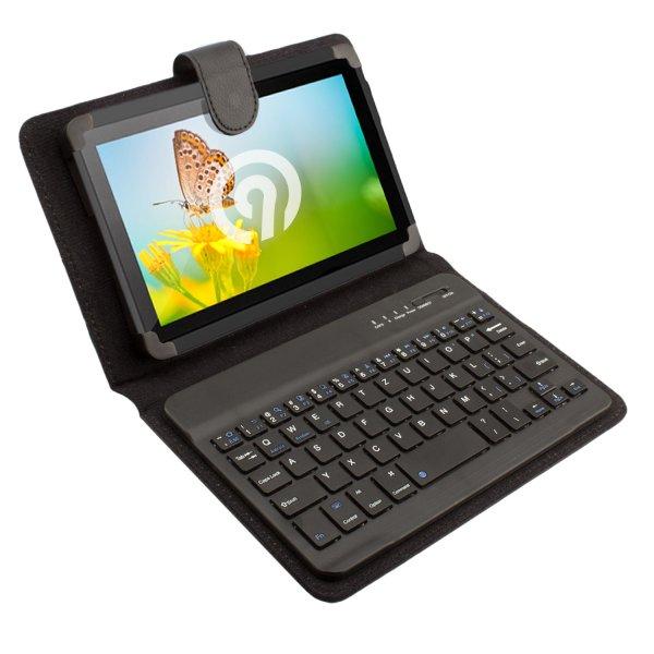NINETEC Bluetooth Schutzhülle + Tastatur für 7 Zoll-Tablet - 24,99 € (inkl. Versand) statt 49,99 € @ebay