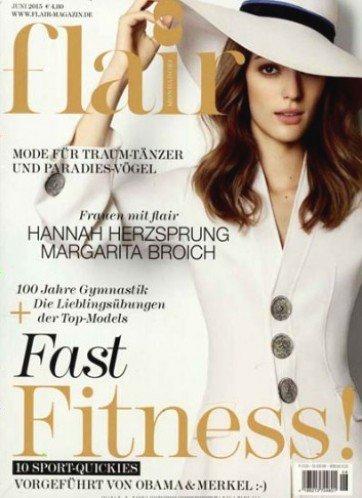 """Jahresabo (12 Ausgaben) der Zeitschrift """"Flair"""" für 40,00€ mit 30,00€ Universalgutschein – Effektivpreis: 10,00€"""
