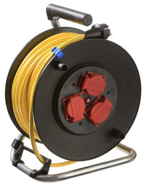 Kabeltrommel Amazon: 15 % Rabatt auf as - Schwabe 10137 Sicherheits Kabeltrommel, 40m, K35 AT-N07V3V3-F 3G1,5, IP44 Aussenbereich, Verlängerungskabel, gelb