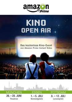 [Prime] Kostenlose Kino-Open-Air-Events von Amazon Prime Instant Video in München, Essen & Potsdam - ab 26. Juni