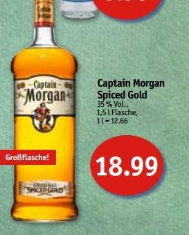 [Lokal/Lübeck] Captain Morgan 1.5l Flasche bei Sky