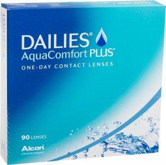 (321linsen.de) DAILIES AquaComfort Plus, 90er Pack ab 4 Packungen für jeweils 28,75 nur für Neukunden