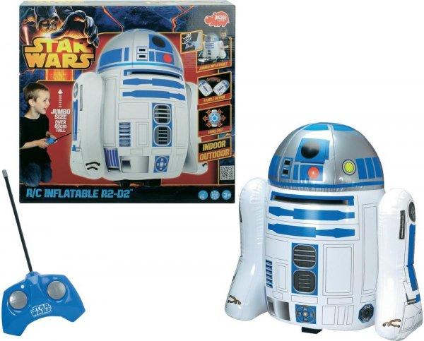 [Babywalz] Star Wars R2-D2 - Dickie RC Modellauto mit 62 cm Höhe (aufblasbar + Fernsteuerung) für 36,94€