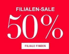 Gina Tricot: -50% Sale in den Filialen, z.B. in Berlin, Köln, Frankfurt