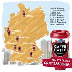 Emmi CAFFÈ LATTE - Uni-Sampling-Tour 2015!