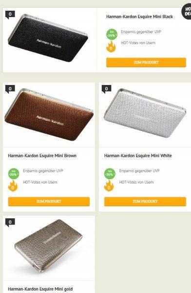 [Dealclub] Harman-Kardon Esquire Mini in verschiedenen Farben für 109,95€ Versandkostenfrei