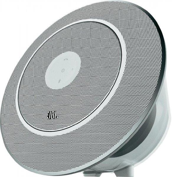 JBL Voyager Mobiler 2.1 Bluetooth Lautsprecher Weiß für 74,44€ Versandkostenfrei @ voelkner