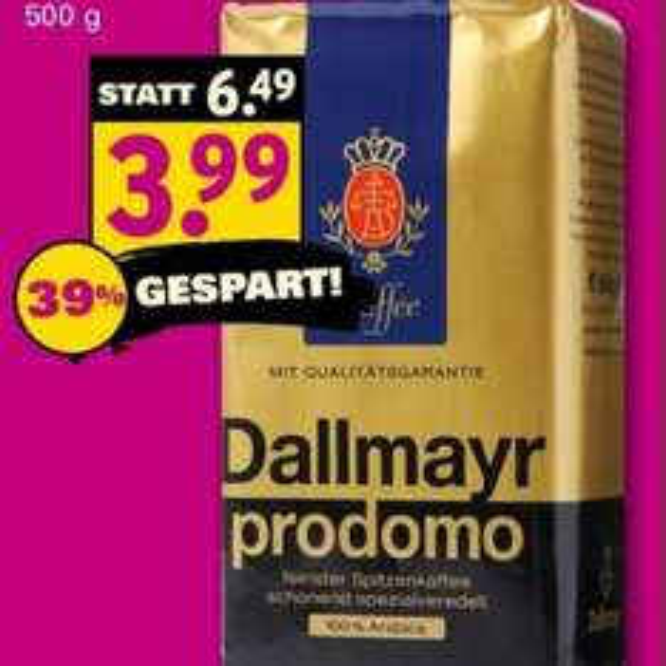 [HundeNetto] Am 20.06.2015 Dallmayr Prodomo für 3,99€ statt 6,49€