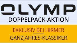 Olymp Hemden für je 30 € bei Kauf von drei Hemden bei Hirmer