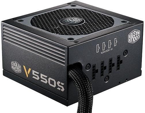 Cooler Master V550S Semi Modular-PC-Netzteil (550W, 80Plus Gold, teilmodular) - 49,99€ @ZackZack.de