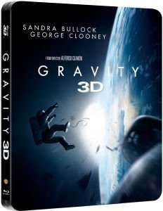 [Zavvi] Gravity 3D – Limited Edition Steelbook + 2D Version Blu-ray ab 13,29 € Versandkostenfrei