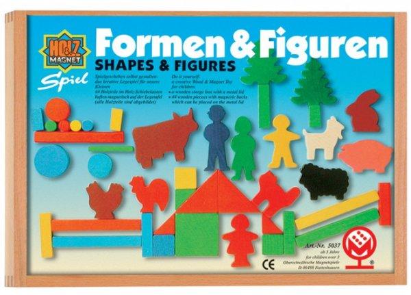 [Amazon-Prime]Magnetspiel aus Holz  - Juniors Formen und Figuren