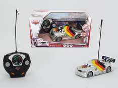 [Amazon-Prime]Cars RC Silber Edition Max Schnell, 2-Kanal Funkfernsteuerung, Turbo Funktion, 18 cm, silber
