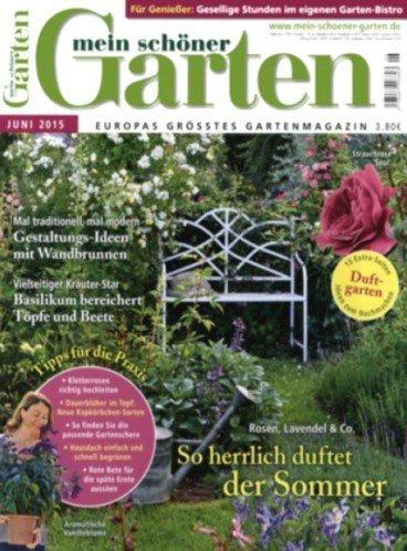 """6 Ausgaben """"Mein schöner Garten"""" für effektiv 4€ (Gutschein) oder 9€ (Verrechnungsscheck)"""
