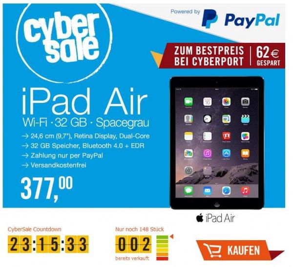 CyberSale Apple iPad Air Wi-Fi 32 GB Spacegrau