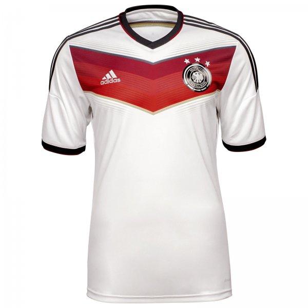 WELTMEISTER TRIKOT - 27,95 € inkl. Versand - adidas Performance DFB Trikot Home WM 2014 Herren weiß / rot