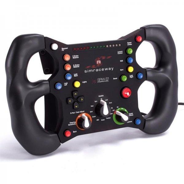 PC Lenkrad: SteelSeries simraceway SRW-S1 mit Bewegungssensor Steering Wheel