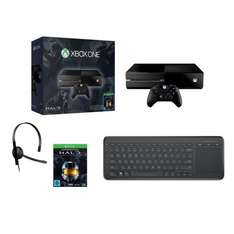 Xbox One 500 GB + Halo The Master Chief Collection + AIO Tastatur für 299€ @ ebay (alternate)
