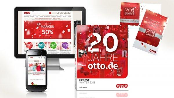 20 Jahre OTTO.de 100€ Gutschein auf ausgewählte Haushalts -und TV- Geräte (Energiesparaktion) + Preisrenner Aktion,viele reduzierte Artikel