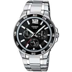 [Amazon + Marketplace] Casio Collection MTP-1300D-1AVEF Herren Edelstahluhr für 51,20€ incl.Versand