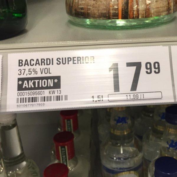 [Netto mit Hund] Bacardi 1,5l